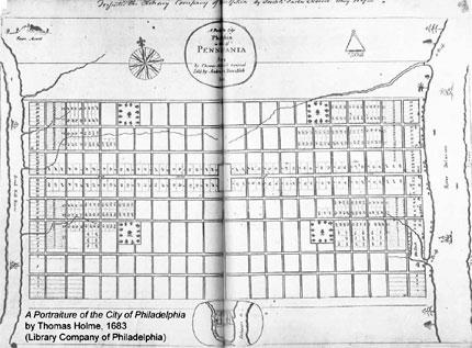 Philadelphia History Museum street map
