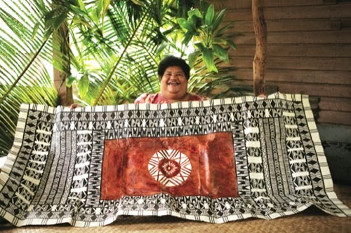 Fiji Airways symbol inspiration