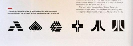 Atari logo concepts