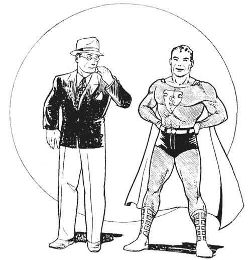 Superman Clark Kent original