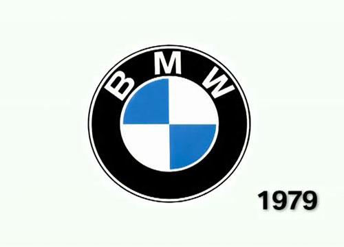 BMW logo 1979