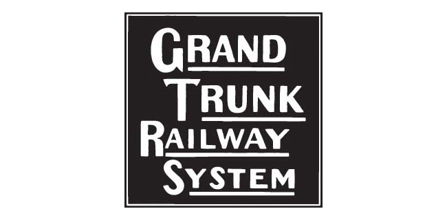 Grand Trunk Railway System logo 1896