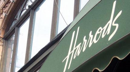 Harrods store front