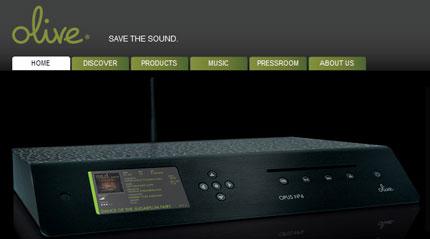Olive website