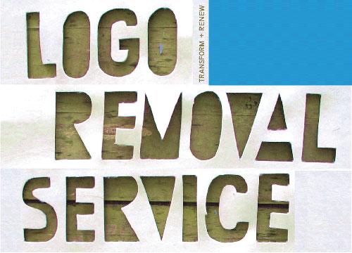 Logo Removal Service