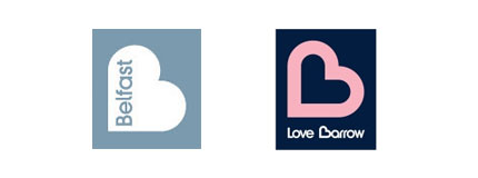 belfast love barrow logos