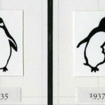 Penguin logo evolution