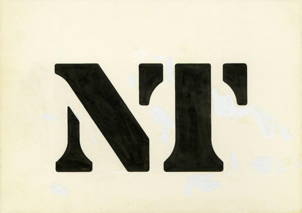 National Theatre logo NT Ian Dennis
