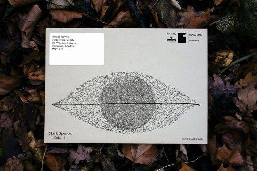 Mark Spencer forensic botanist envelope