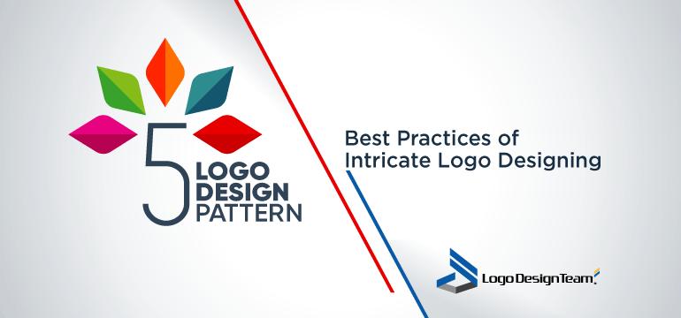 5 logo design pattern