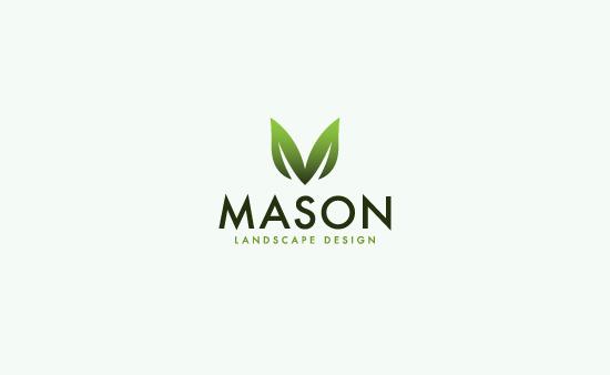 mason landscape design - logo graphic