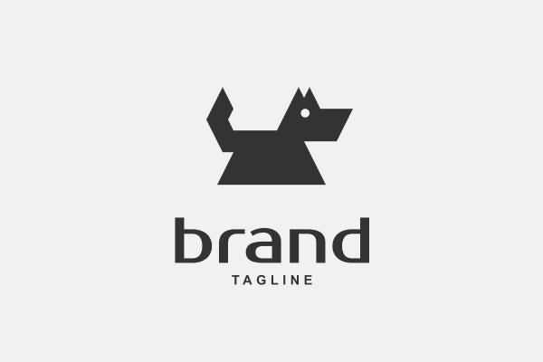 Schnauzer Dog Logo