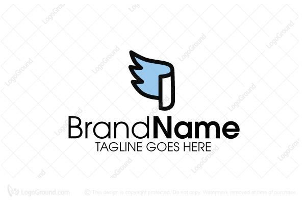 Graduation Eagle Logo