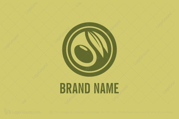 exclusive logo 20344 olive