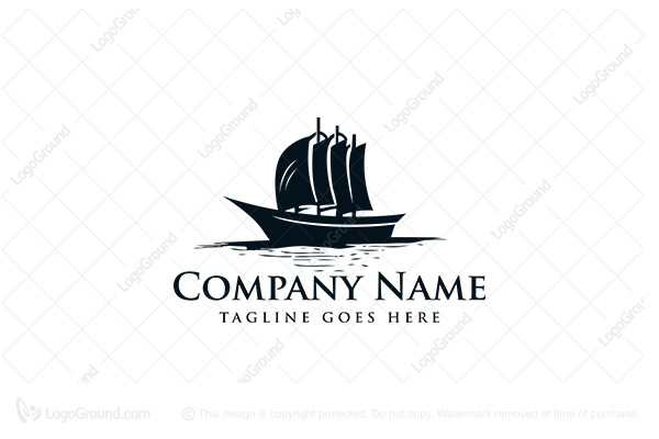 Pirate Ship Logo