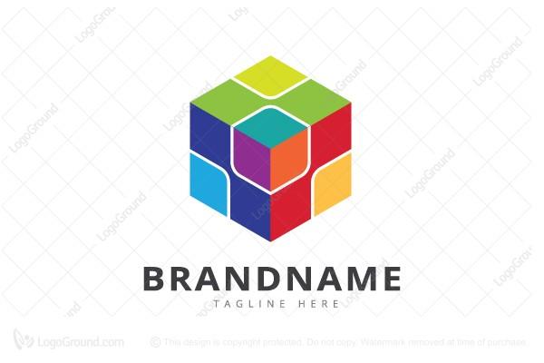 exclusive logo 63235 cube