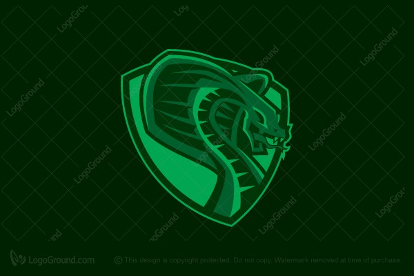 Silver Animal Print Wallpaper Viper Logo