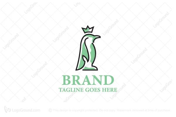 Penguin Art Painting Logo