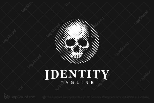 exclusive logo 60332 skull