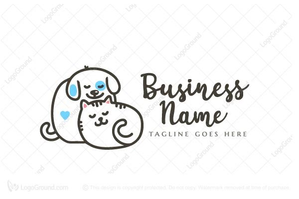 Pawsome Dog Logo