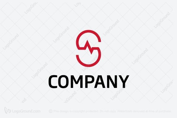 Letter S Medical Logo