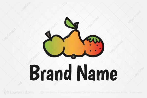 exclusive logo 72862 fruits