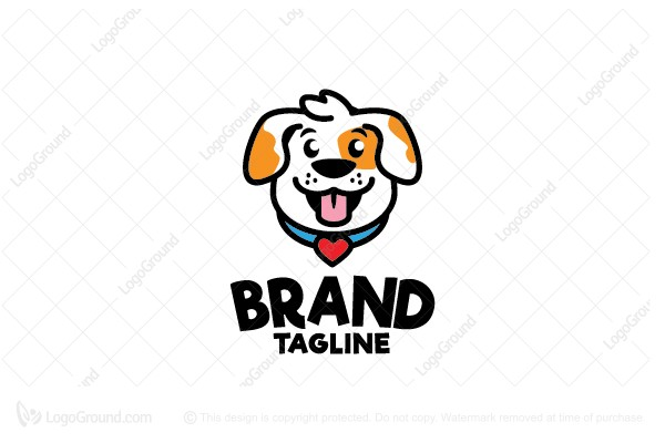 Dog Cartoon Logo