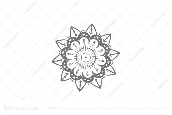 Intricate Leaf Logo