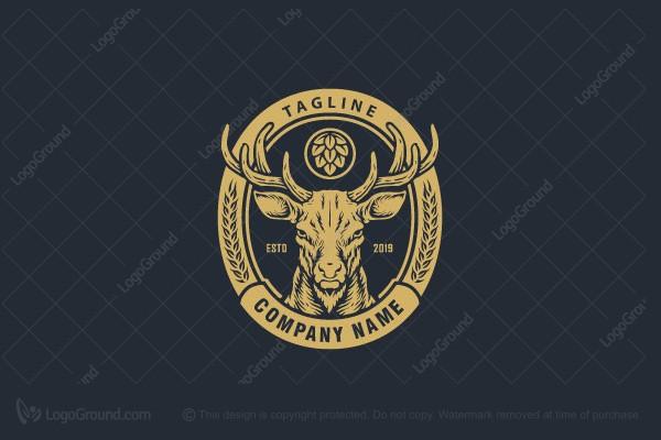 Craft Beer Logo Badge Logo