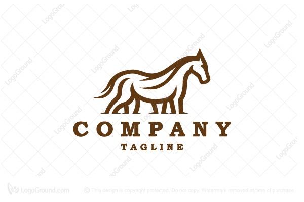exclusive logo 165040 horse