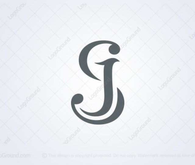 Logo For Sale Letters Sj Monogram Logo