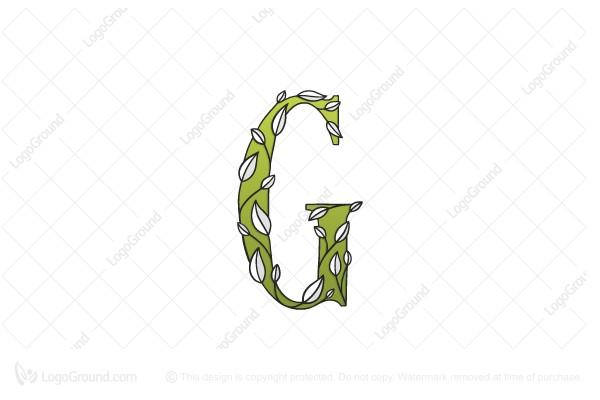 Letter G Eye Shape Logo