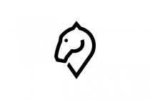 Dressage Horse Logo