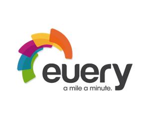 renkli teknoloji logo tasarımı