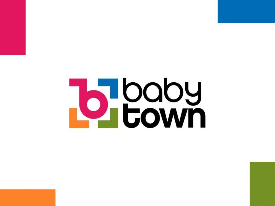 babytown bebek mağazası logo ve kurumsal kimlik tasarımı