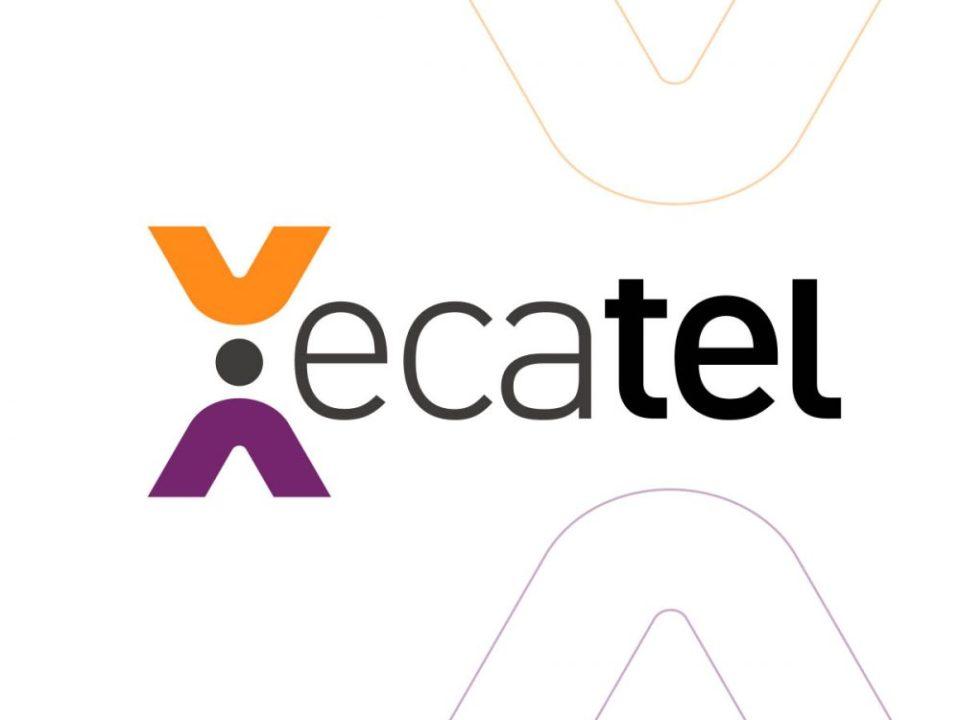ecatel telekom iletişim logo tasarımı logosu