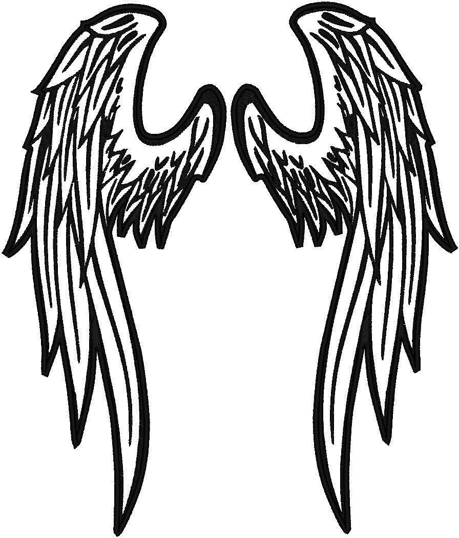 angel wings logos