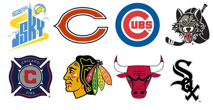 chicago teams logos