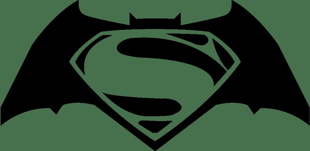 batman vs superman logos