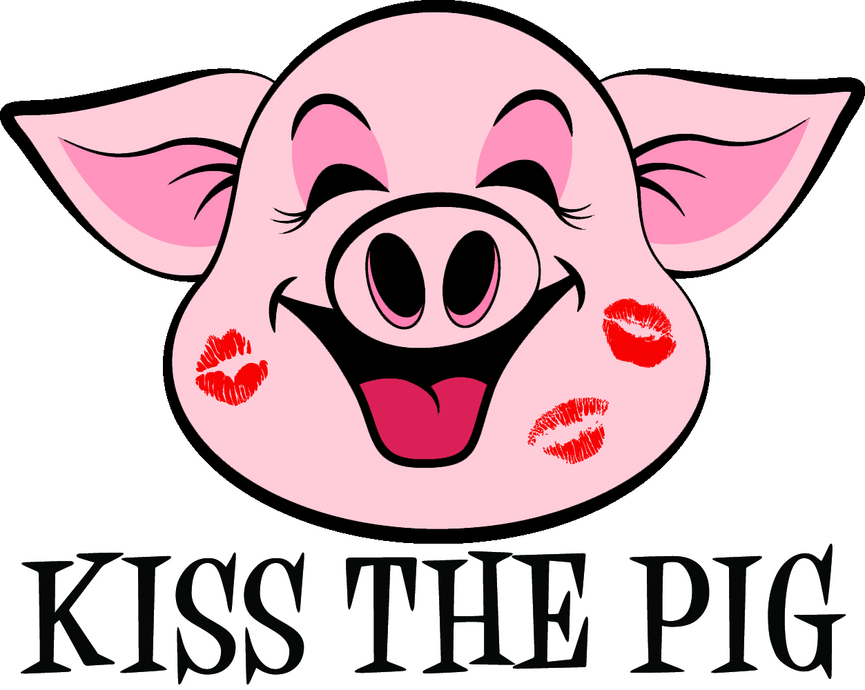 hight resolution of cute pig clipart
