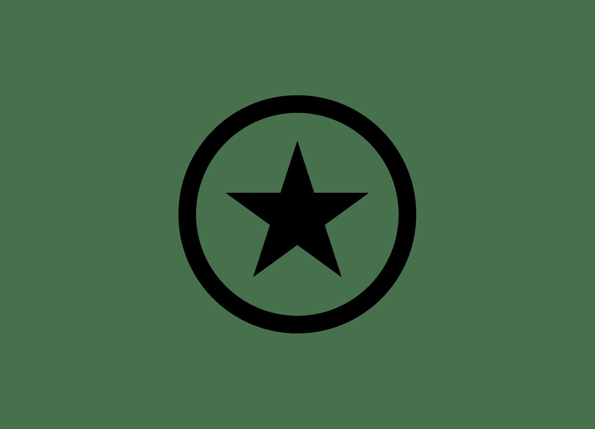 Black star Logos