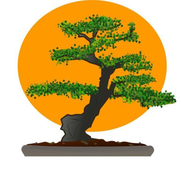 Karate Kid Bonsai Logos
