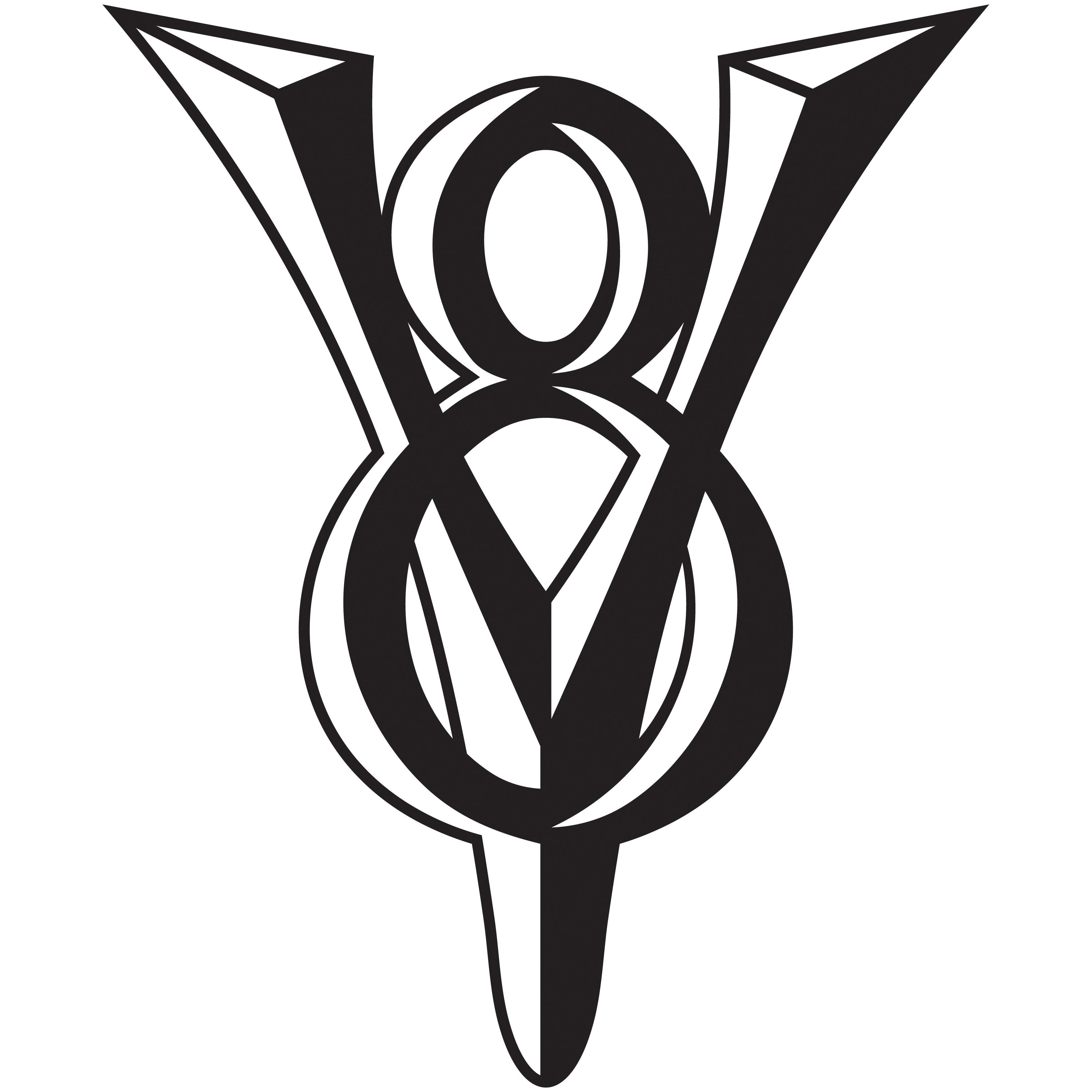 Ford V8 Logos