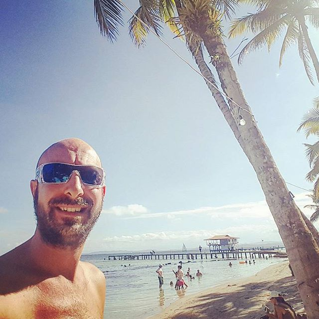Sunny day on the beach #bocasdeltoro #panama #caribbean #backpacker #travel #traveling #InstaTags4Likes #vacation #visiting #instatravel #instago #instagood #trip #holiday #photooftheday #fun #travelling #tourism #tourist #instapassport #instatraveling #mytravelgram #travelgram #travelingram #igtravel