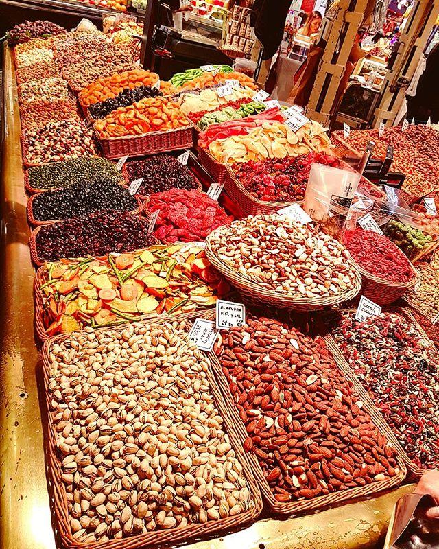 Do you want some dried fruits? #boqueria #market#barcelona #cruising #cruise #crew #sailing #travel #traveling #traveler #instatravel #instago #instagood #trip #photooftheday #instapassport #instatraveling #mytravelgram #travelgram #travelingram #igtravel #instalife #travelblog #sea #travelstoke