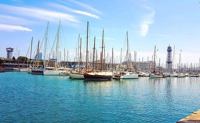 Bright summer day in Barcelona #cruising #cruise #crew #sailing #travel #traveling #traveler #instatravel #instago #instagood #trip #photooftheday #instapassport #instatraveling #mytravelgram #travelgram #travelingram #igtravel #instalife #travelblog #sea #travelstoke