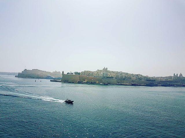 There's a light mist today over Malta #lavalletta #cruising #cruise #crew #sailing #travel #traveling #traveler #instatravel #instago #instagood #trip #photooftheday #instapassport #instatraveling #mytravelgram #travelgram #travelingram #igtravel #instalife #travelblog #sea #travelstoke