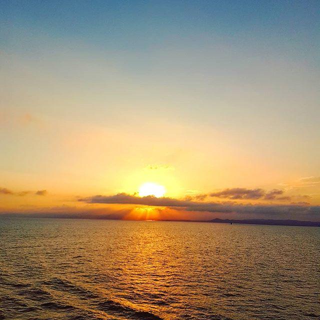 There's something magic where the days ends over the seas #sunset #cruising #cruise #crew #sailing #travel #traveling #traveler #instatravel #instago #instagood #trip #photooftheday #instapassport #instatraveling #mytravelgram #travelgram #travelingram #igtravel #instalife #travelblog #sea #travelstoke