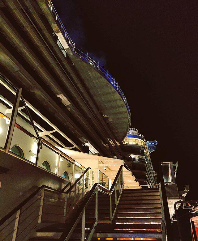 My neighborhood is different, floating on the sea #night #architecture #mscseaview #msccruises #cruising #cruise #crew #sailing #travel #traveling #traveler #instatravel #instago #instagood #trip #photooftheday #instapassport #instatraveling #mytravelgram #travelgram #travelingram #igtravel #instalife #travelblog #sea #travelstoke