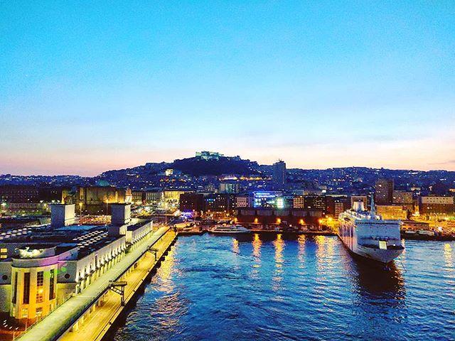 Arrivederci Napoli #naples #sunset #mscseaview #msccruises#cruising #cruise #crew #sailing #travel #traveling #traveler #instatravel #instago #instagood #trip #photooftheday #instapassport #instatraveling #mytravelgram #travelgram #travelingram #igtravel #instalife #travelblog #sea #travelstoke